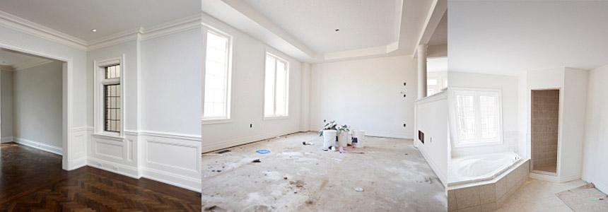 pose de moulures montr al qu bec. Black Bedroom Furniture Sets. Home Design Ideas